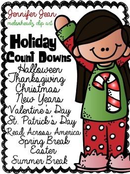 Holiday Countdowns