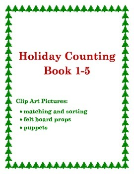 Holiday Counting Book and Activities