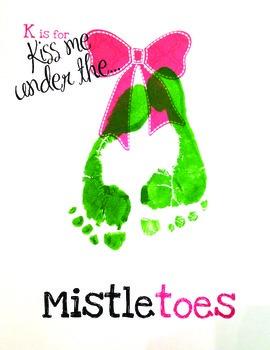 Holiday Craft: Mistletoes