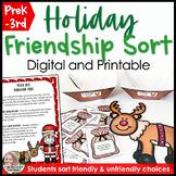 Holiday Friendship Sort