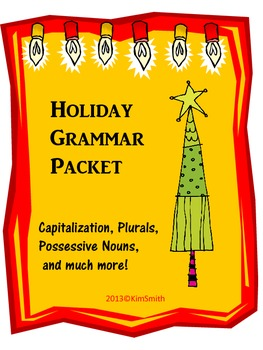 Holiday Grammar Packet