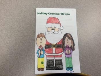 Christmas Holiday Grammar Book