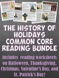Holiday History Common Core Reading Bundle
