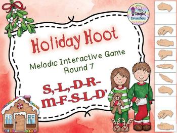 Holiday Hoot - Round 7 (S,-L,-D-R-M-F-S-L-D')