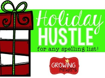 Holiday Hustle! A Game for Any Word List!