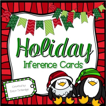 Winter Holiday Inferencing {Differentiated Task Cards for