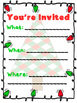 Holiday Invitation Bundle