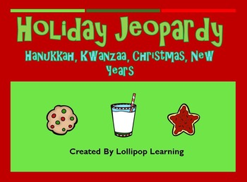 Holiday Jeopardy