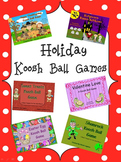 Holiday Koosh Ball SMARTBoard Games