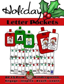 Holiday Letter Pockets (Interactive Pockets)