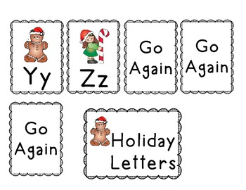 Holiday Letter Recognition