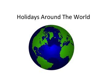 Holiday Lights Around The World PowerPoint