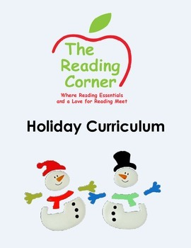 Holiday Literacy and Math Package