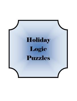 Holiday Logic Puzzles~ Part I