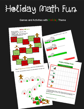 Holiday Math Activities and Games