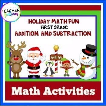 Holidays & Seasonal Math Activities: Addition and Subtraction