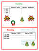 4th Grade Math Task Cards for the Holidays