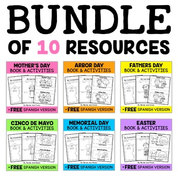 Spring Guided Reading Book Activities
