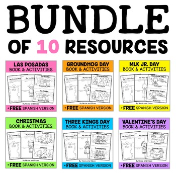 Winter Guided Reading Book Activities
