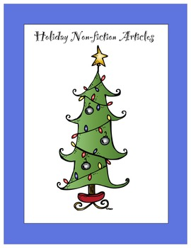 Holiday Non-fiction Articles