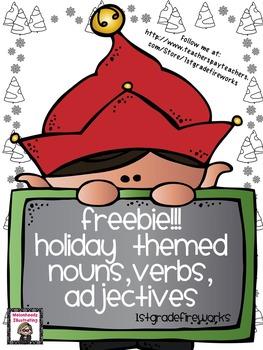 Holiday Noun,Verb,Adjective