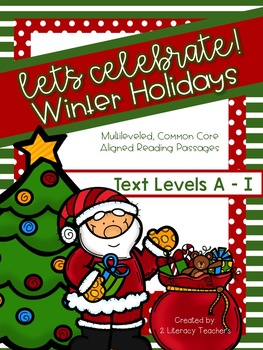 Holiday Passages: CCSS Aligned Leveled Reading Passages an