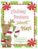 Holiday Pattern Play: Cut and Paste & Coloring Work- Ready