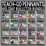 Holiday Writing Pennants BUNDLE for Entire YEAR