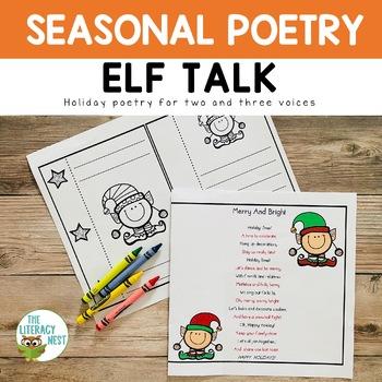 December Centers Partner Poems for Fluency Practice ~Chris
