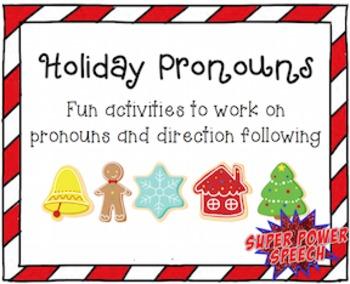 Holiday Pronouns