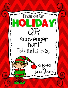 Holiday QR Scavenger Hunt-Tally Marks