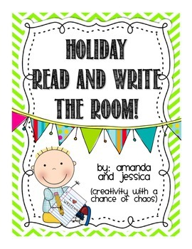 Read and Write the Room Pack: Holiday Edition