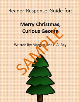 Holiday Reader Response Guide: Merry Christmas, Curious George