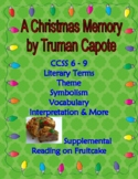 A Christmas Memory by Capote Holiday Story & Personal Narr