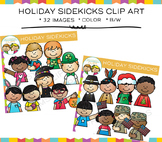 Sidekicks Holiday Clip Art