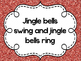 Holiday Sing Along Lyrics for December