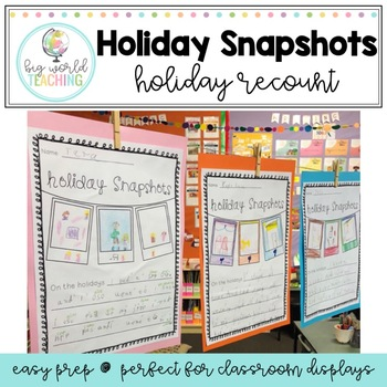Holiday Snapshots (American and Australian spelling)