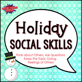 Holiday Social Skills