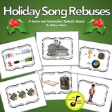 Holiday Song Rebuses: Versatile, Interactive Bulletin Boar