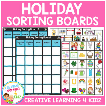Holiday Sorting Boards