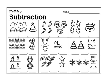 Holiday Subtraction
