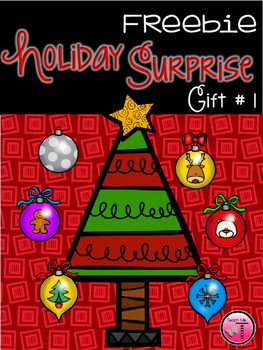 Holiday Surprise Freebie  Gift #1