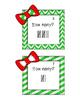Holiday Tally Marks Freebie