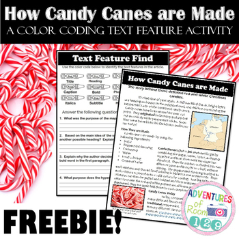 Holiday Text Feature Printable