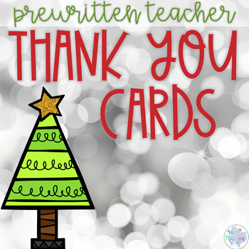 Holiday Thank You Card FREEBIE