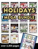 Holiday Themed Activities Bundle (350+ pages)