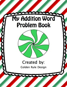 Holiday Themed Addition Word Problem Book