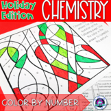 Holiday Themed General Chemistry Color-by-Number Activity