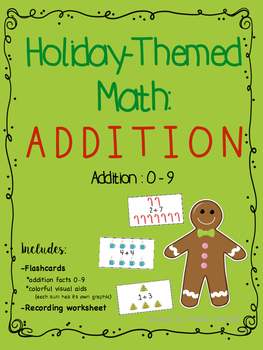 Holiday-Themed Math: Addition (0-9)