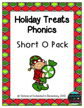 Holiday Treats Phonics: Short O Pack